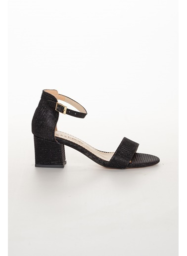 Dilimler Ayakkabı Sandalet Siyah